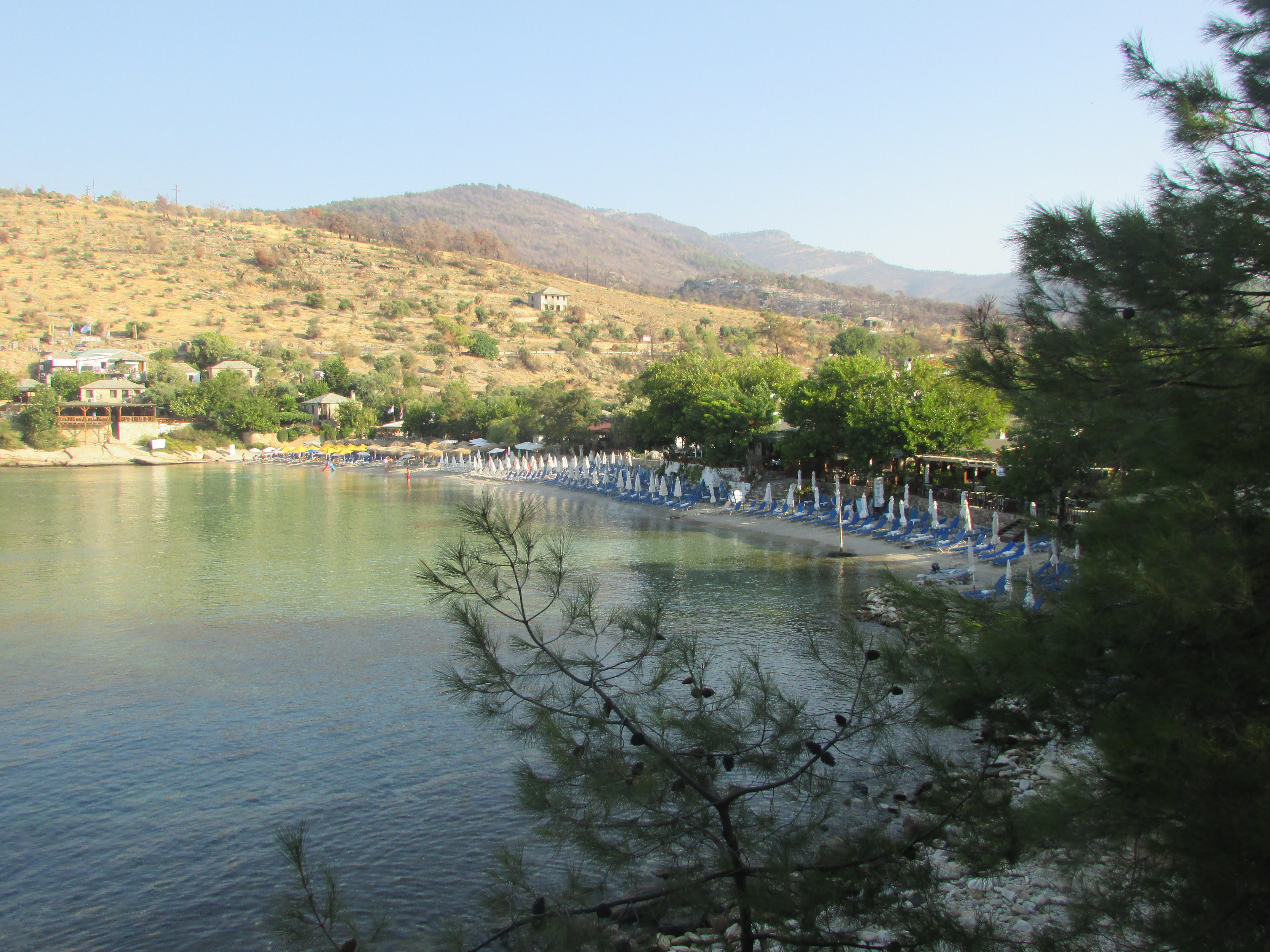 плаж Алики Тасос
