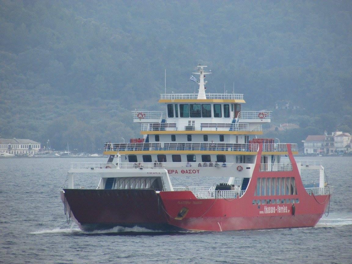 ферибот на Тасос