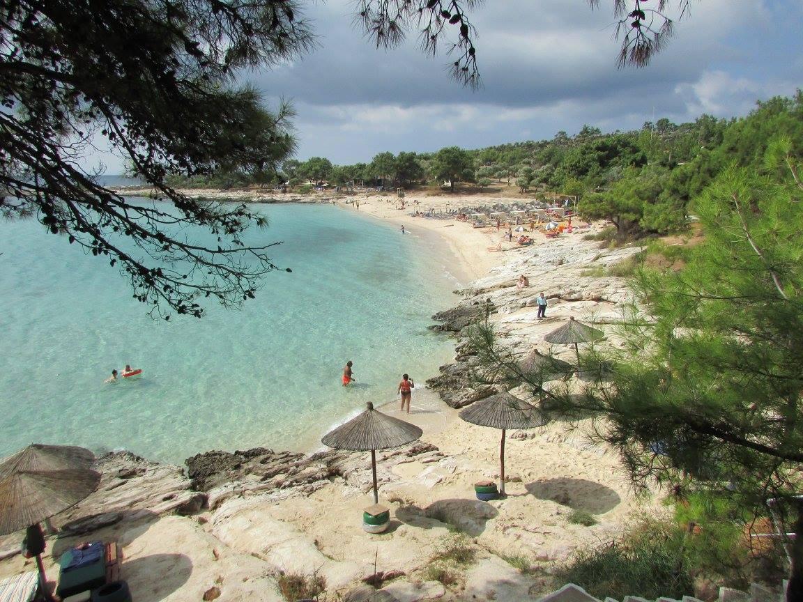 плаж псили аммос Тасос