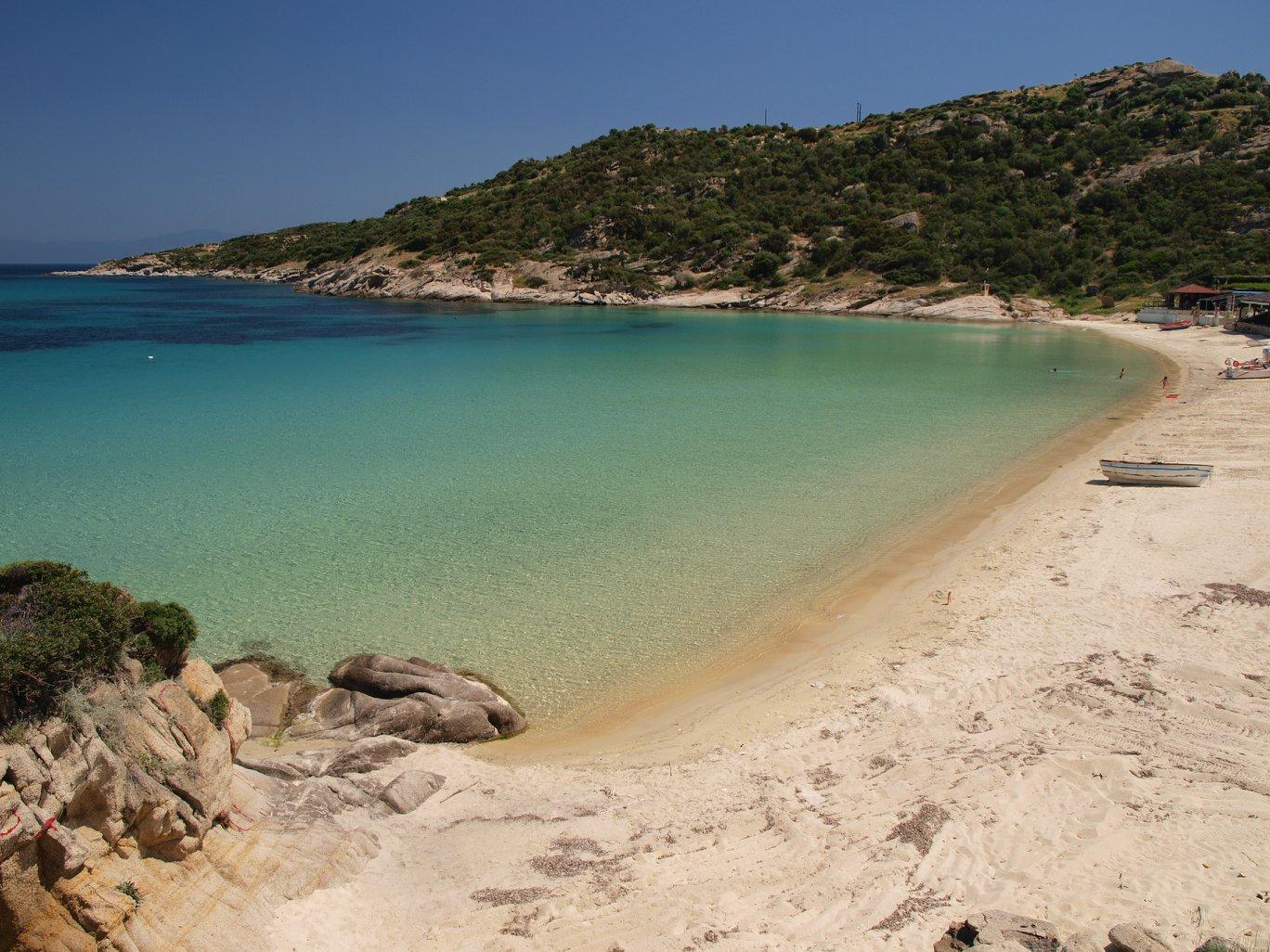 пясъчния плаж на Климатариа