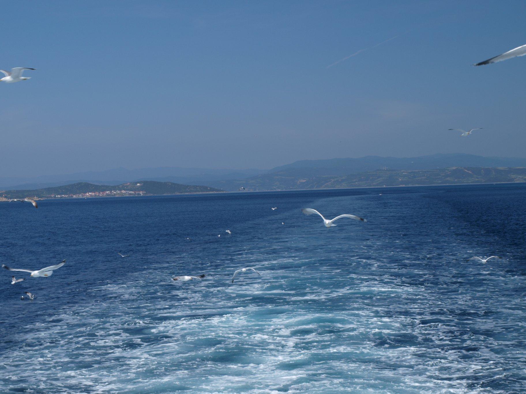 пътуване с ферибот