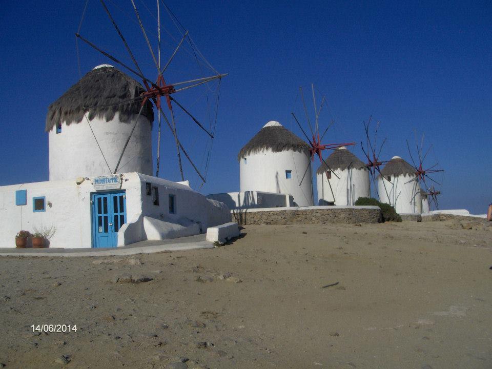 Вятърни мелници на Миконос