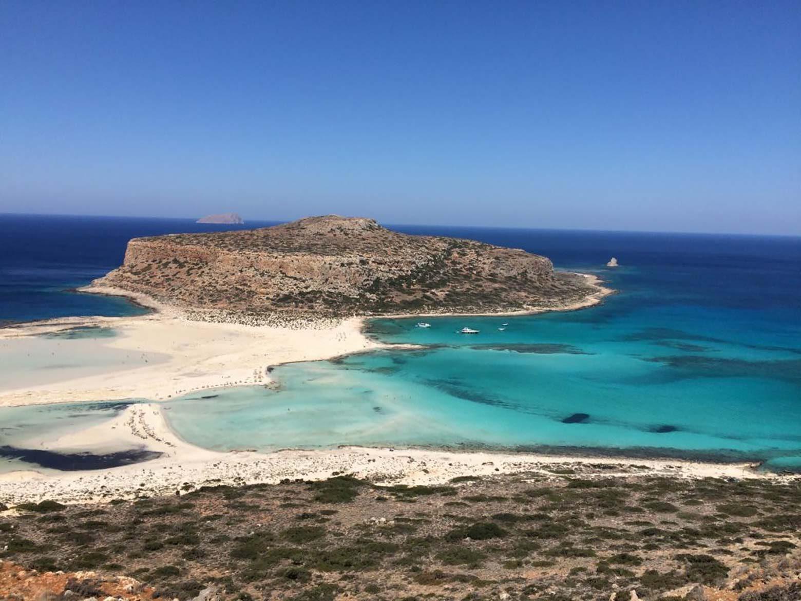 Лагуната Балос на остров Крит
