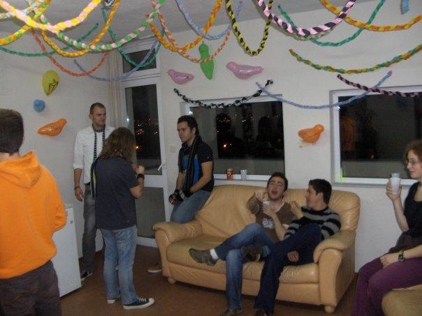 студентски партита в Гърция