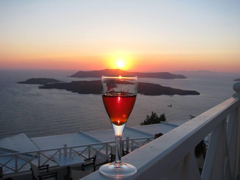 вино от Санторини