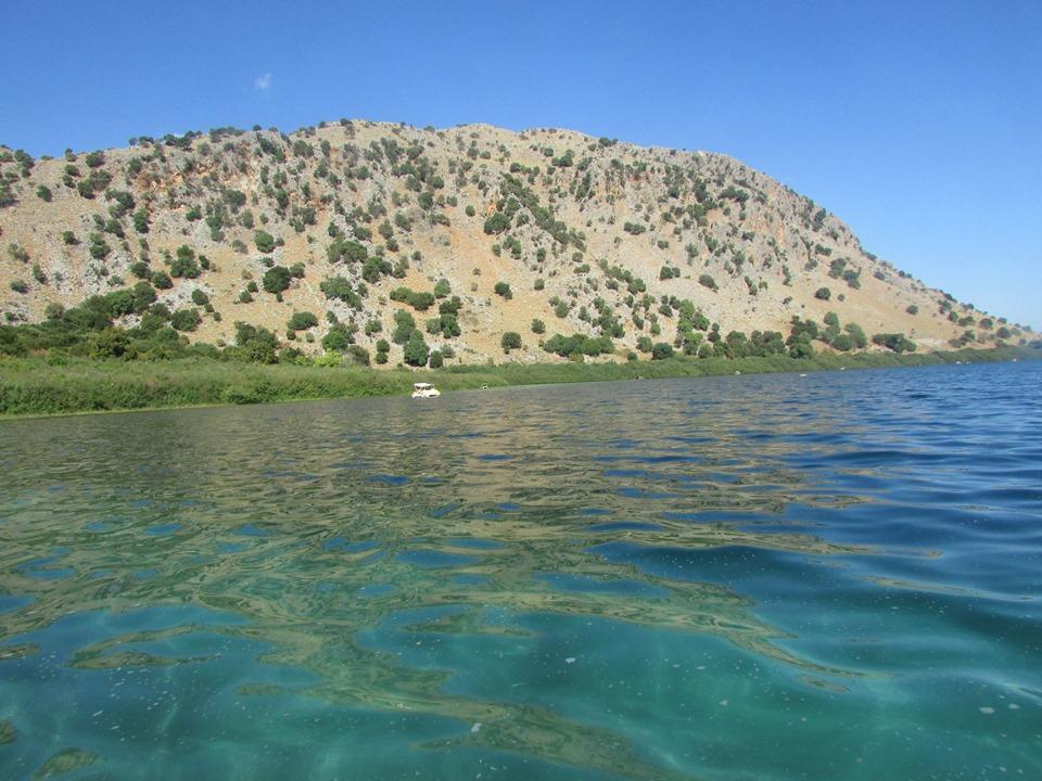 сладководното езеро на Крит