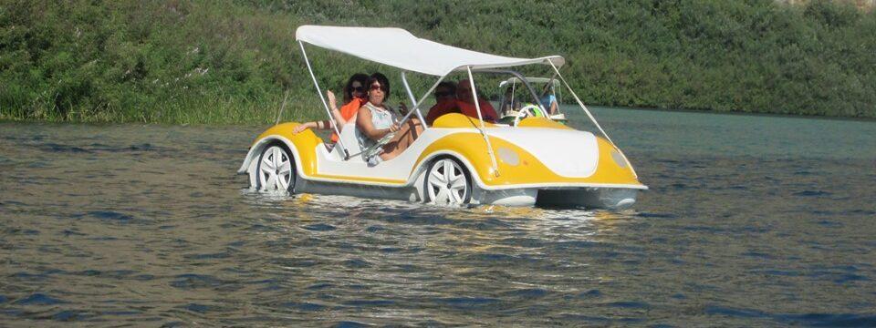 водно колело на езерото Курнас