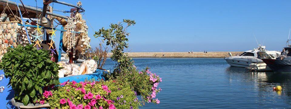 красота на пристанището на Ханя