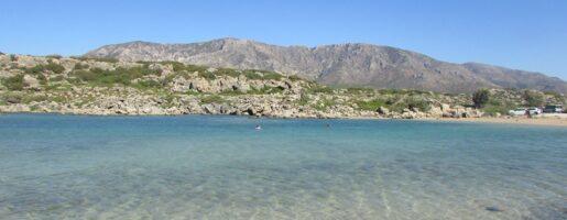 бялото езеро на Крит