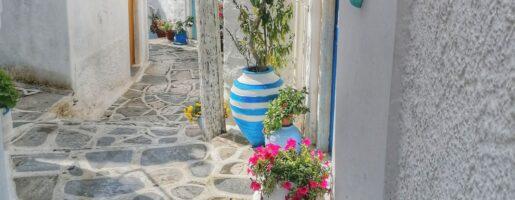 улично изкуство на Наксос