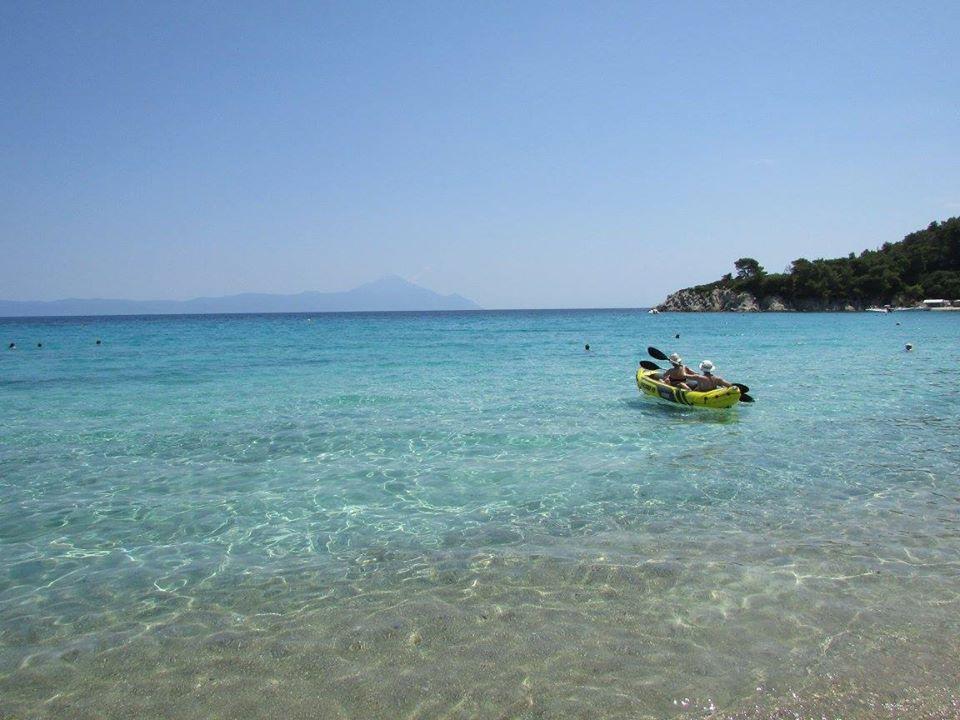 плажа на къмпинг Арменистис Ситония