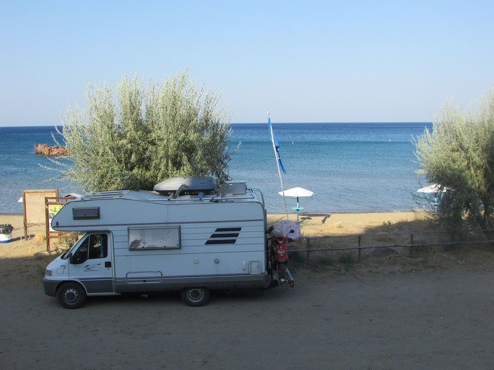 Кемпер на остров Лимнос