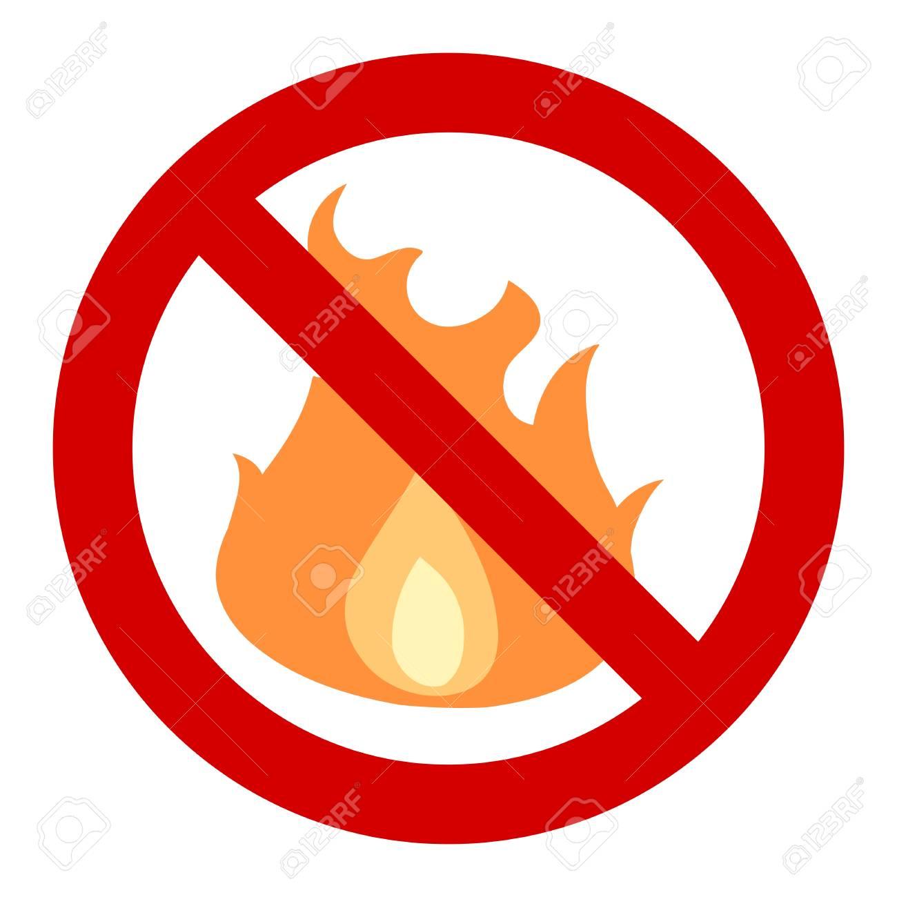 Забранено е паленото на огън