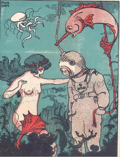 забавна книга за добива на морските гъби