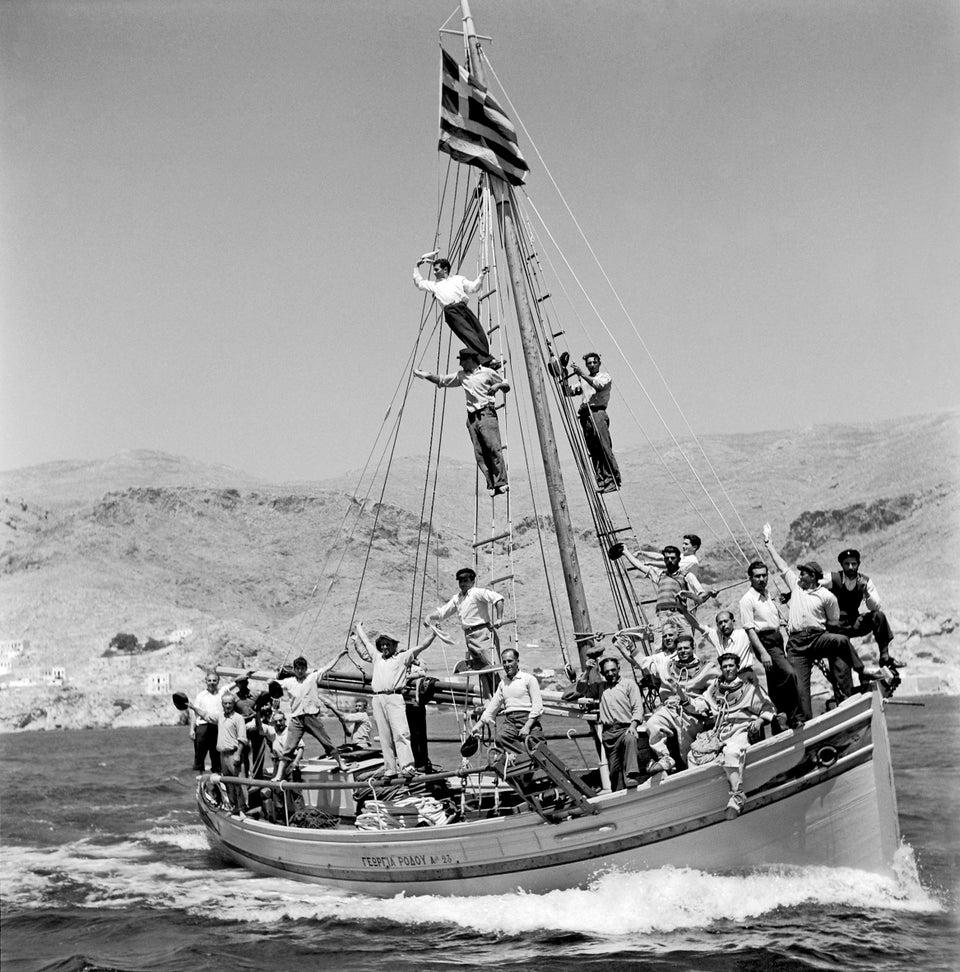 гръцки ловци на морски гъби