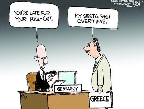 Закъснял по гръцки