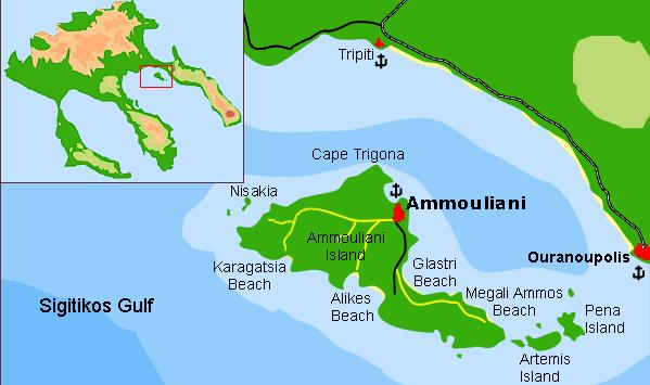 карта на Амулиани