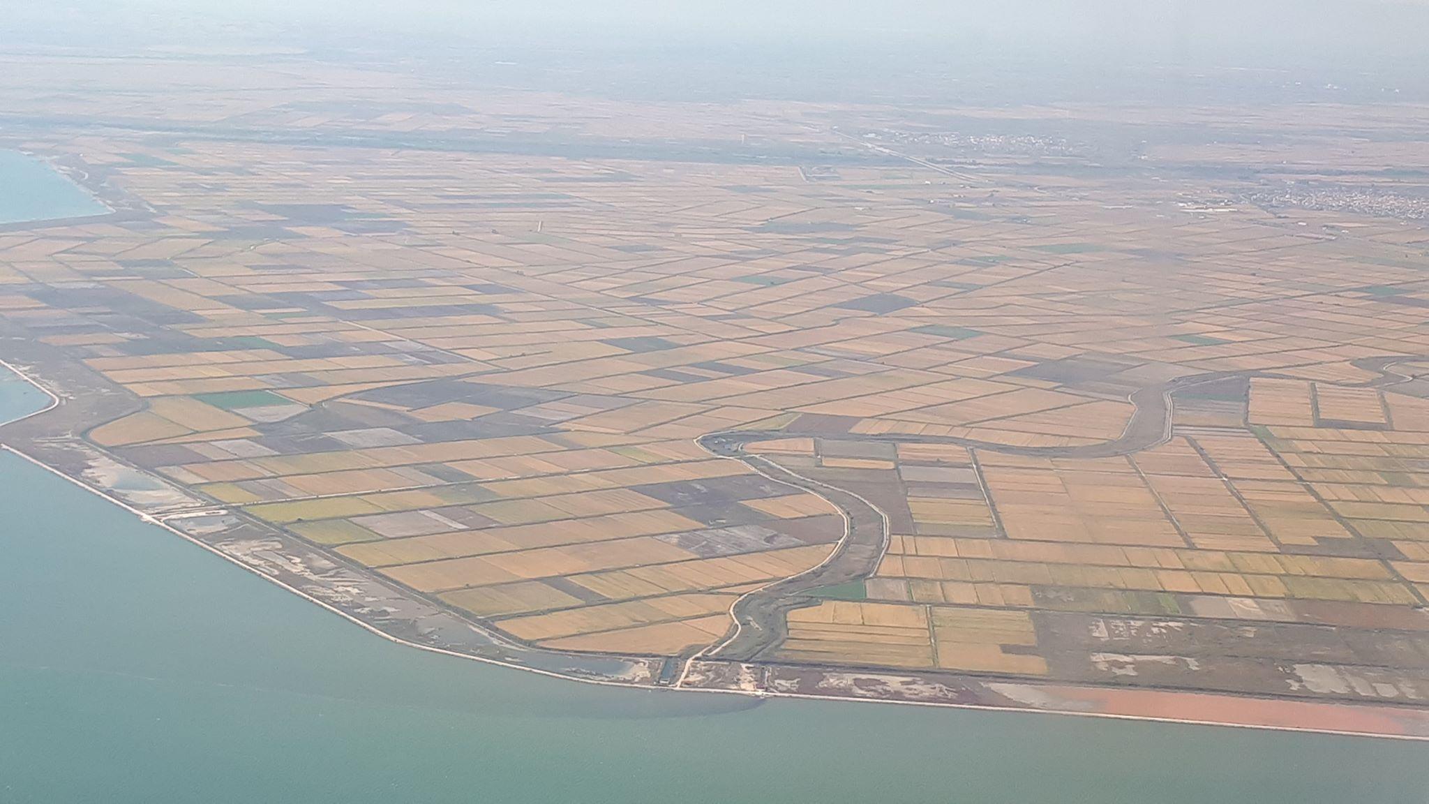 гръцка обработваема земя поглед от високо