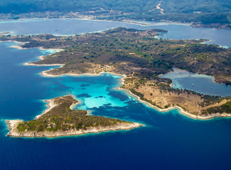 Вурвуру острови от високо