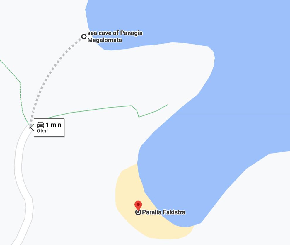 пещера на плаж Факистра