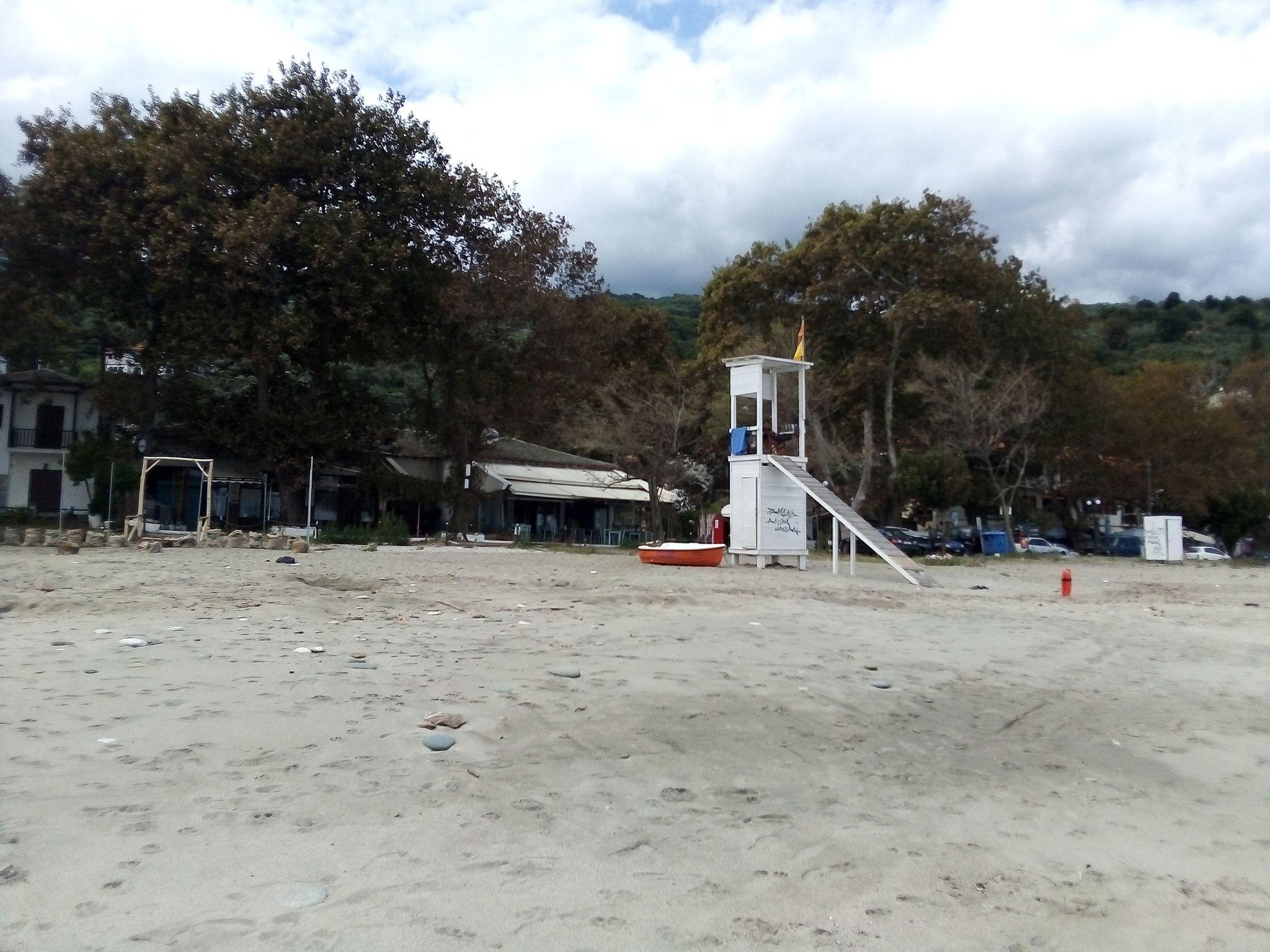 бутка на спасител на плаж Хоревто