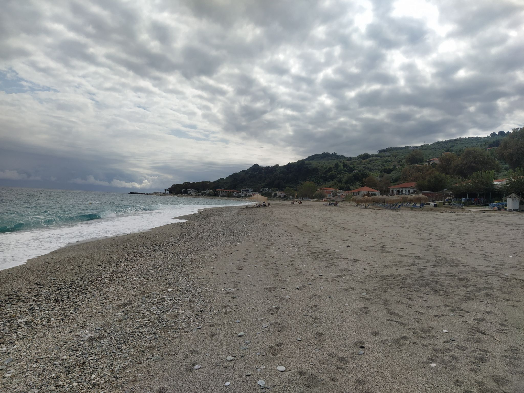 пясъчен плаж Хоревто, Пилио