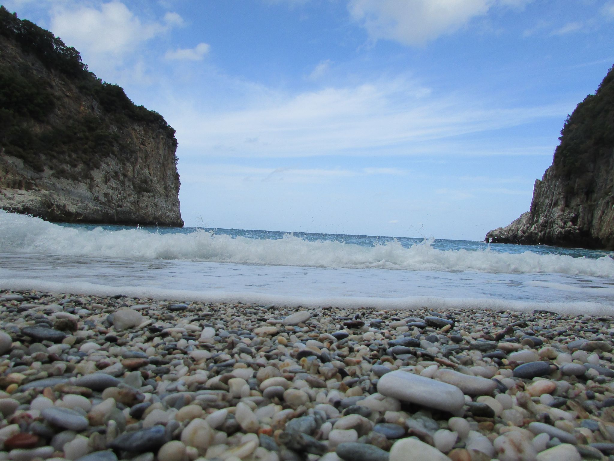 плаж Факистра, Пилио
