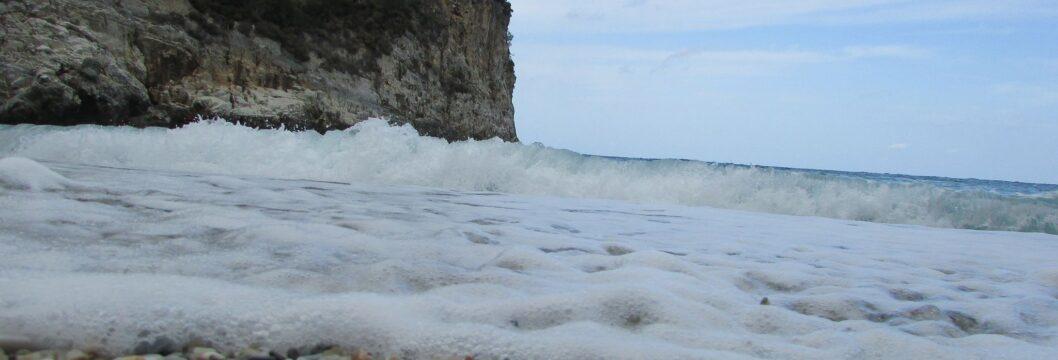 Камъчета на плаж Факистра