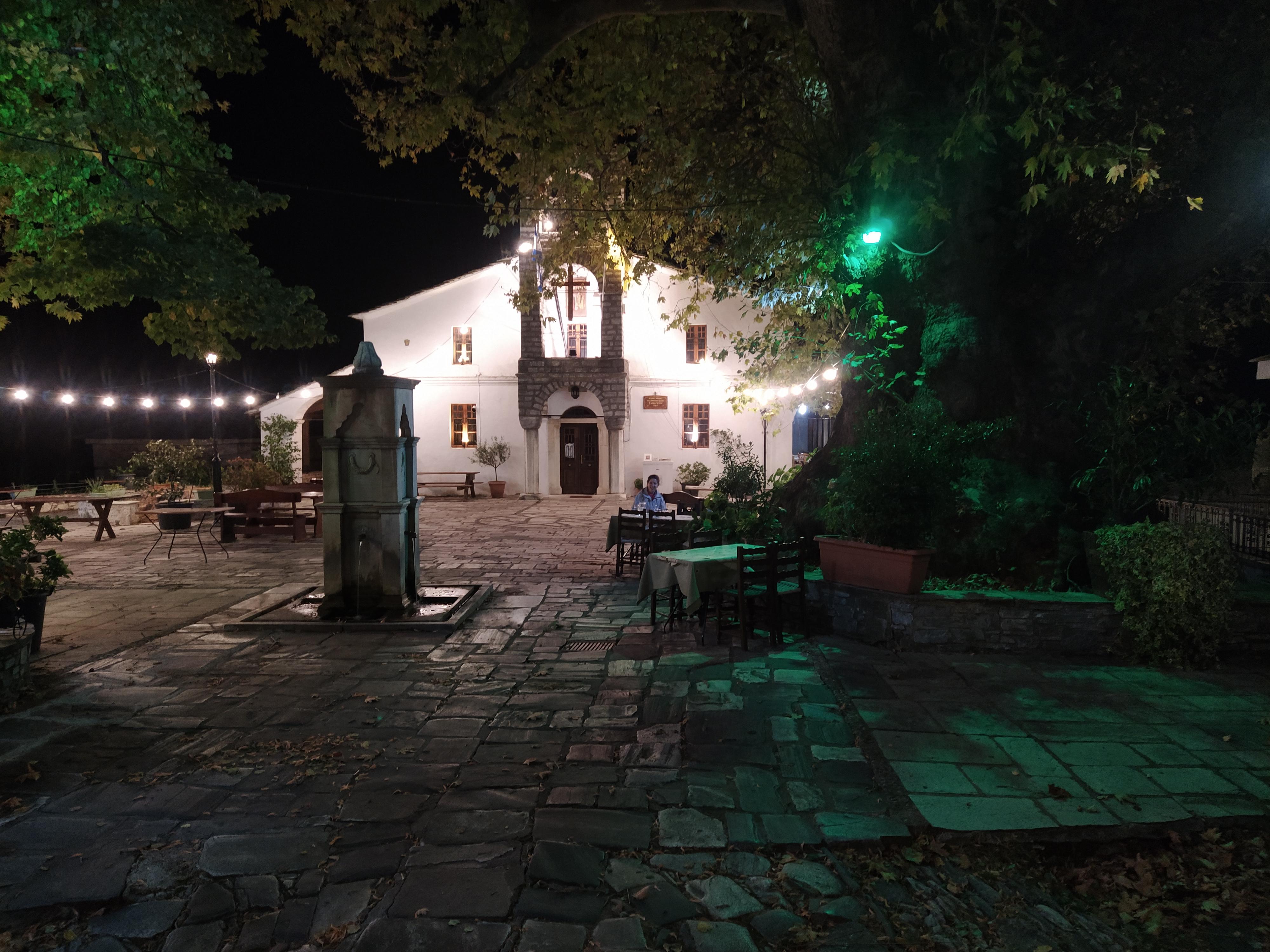 Църква в Цагарада, Пилио