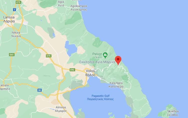 Карта на Киссос, Пилио