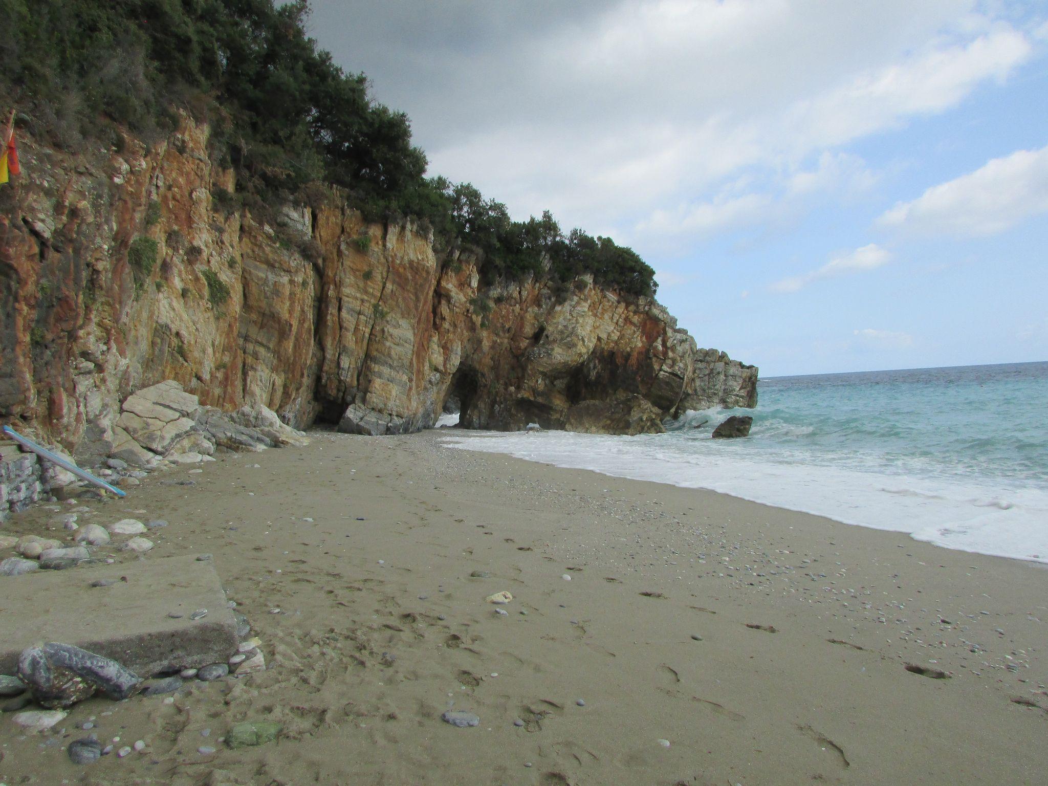 Плаж Милопотамос, Пилио