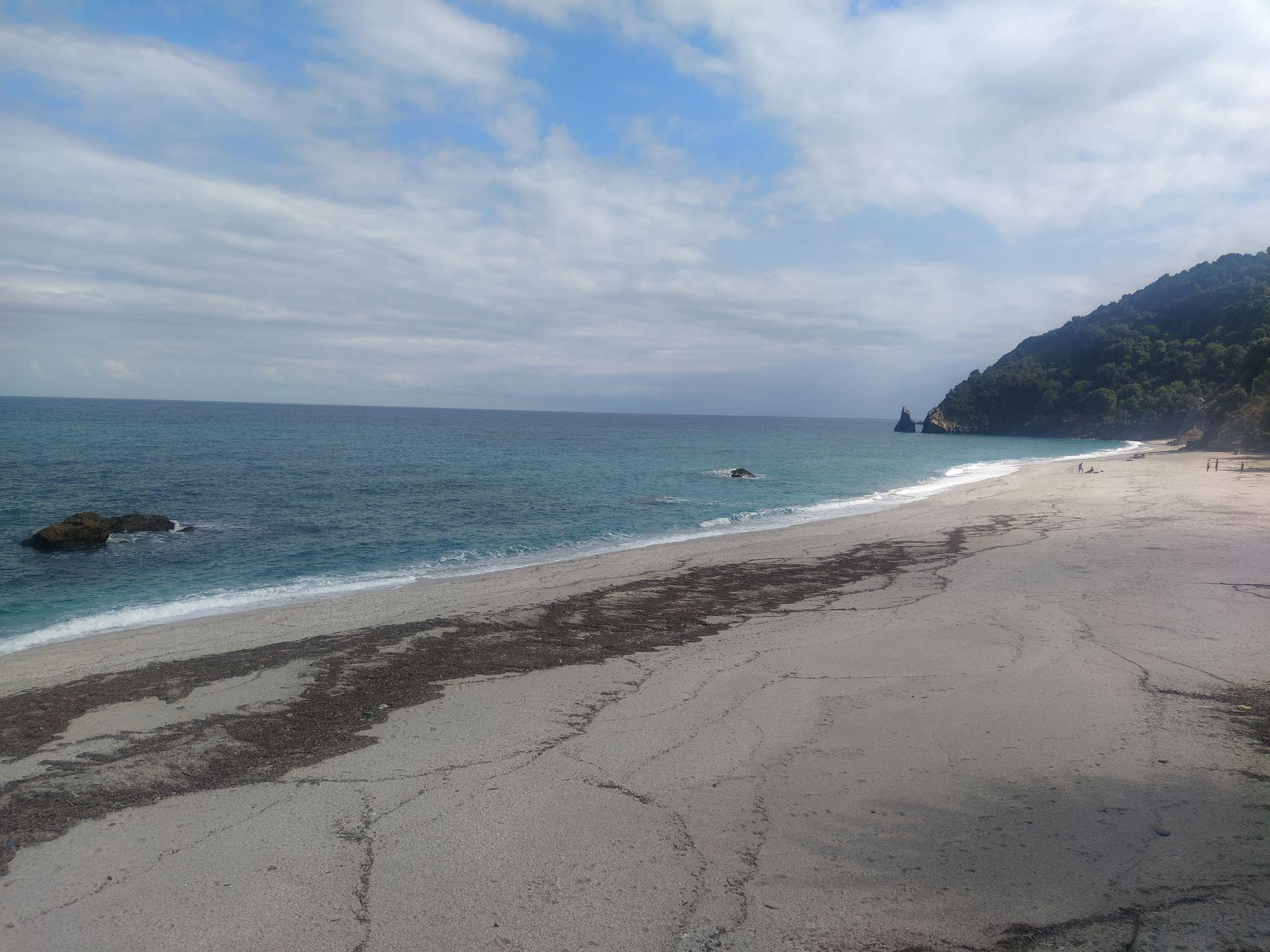 Пясъчен плаж Агии Саранда, Пилио