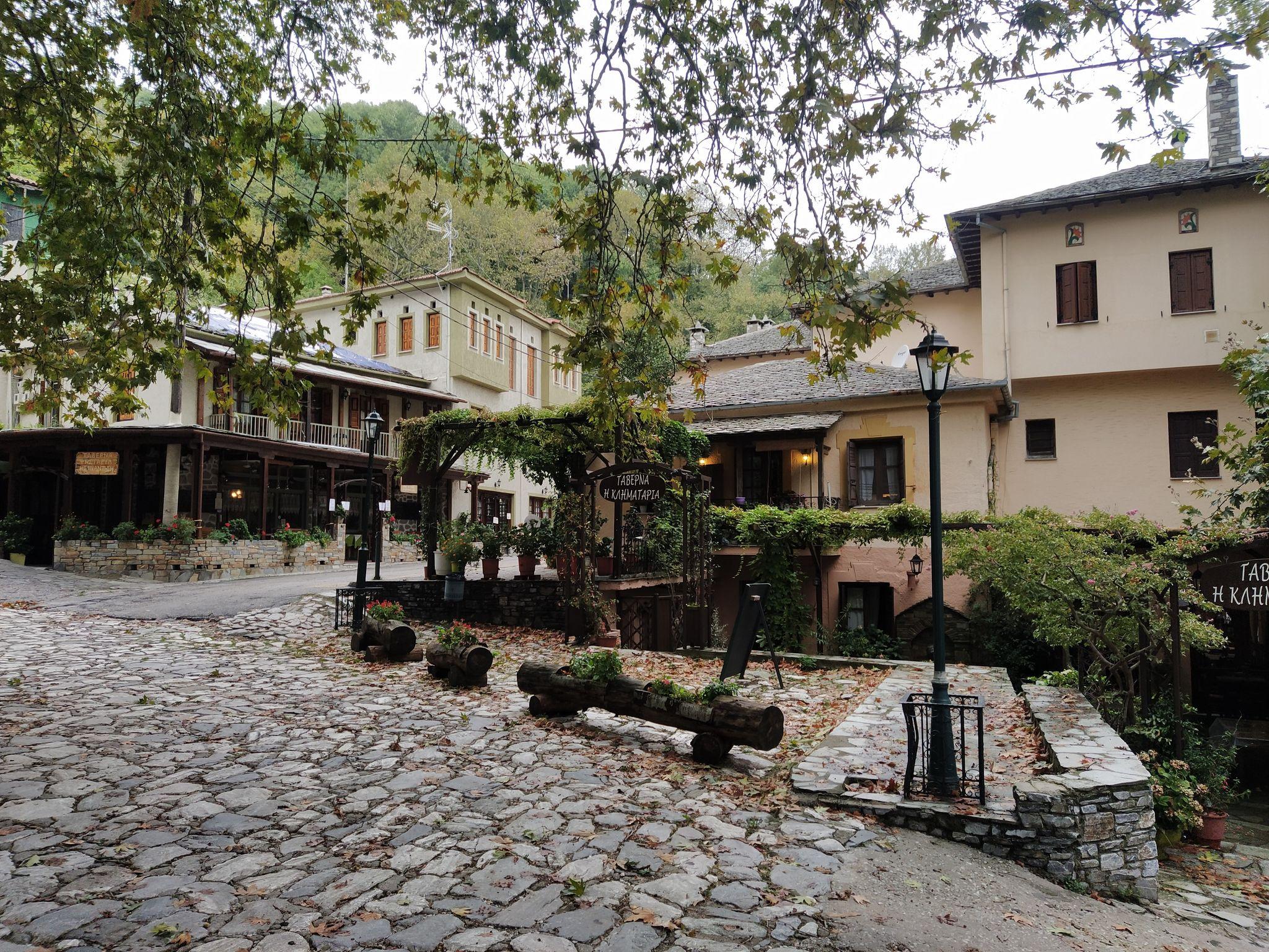 главния площад на село Киссос