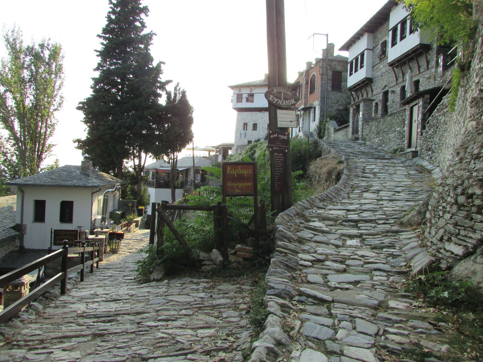 Калдъръми из Макриница, Пилио