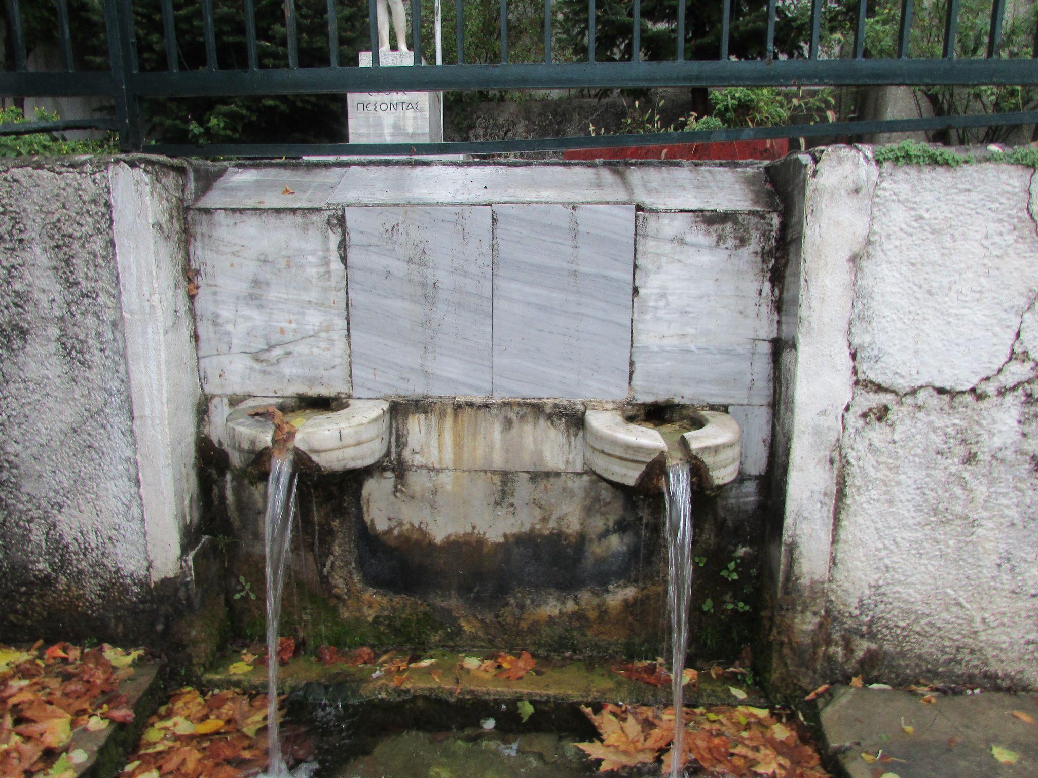 чешма в Агиос Лаврентиос, Пилио