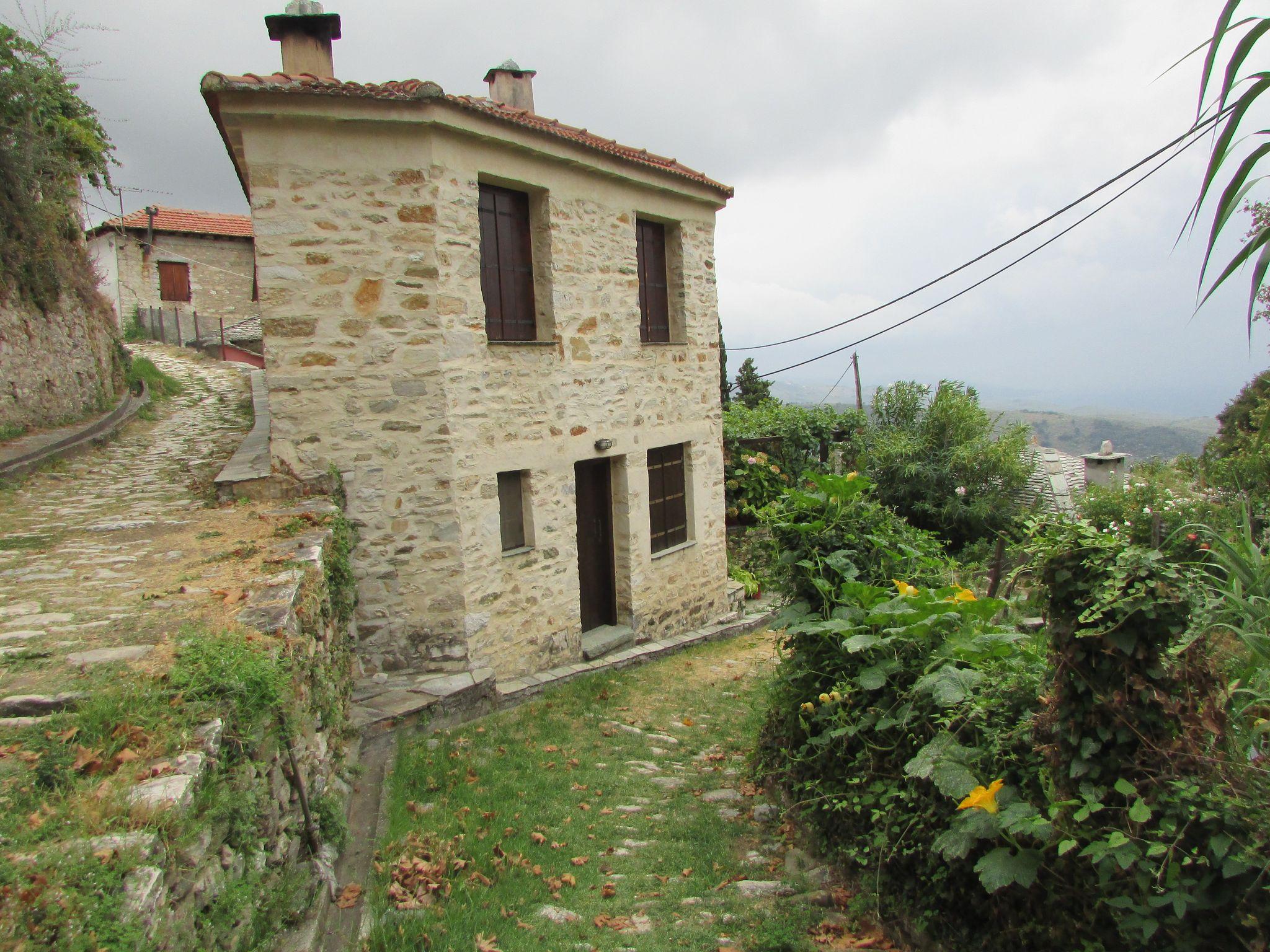 Архитектуа в Пилио, село Милиес