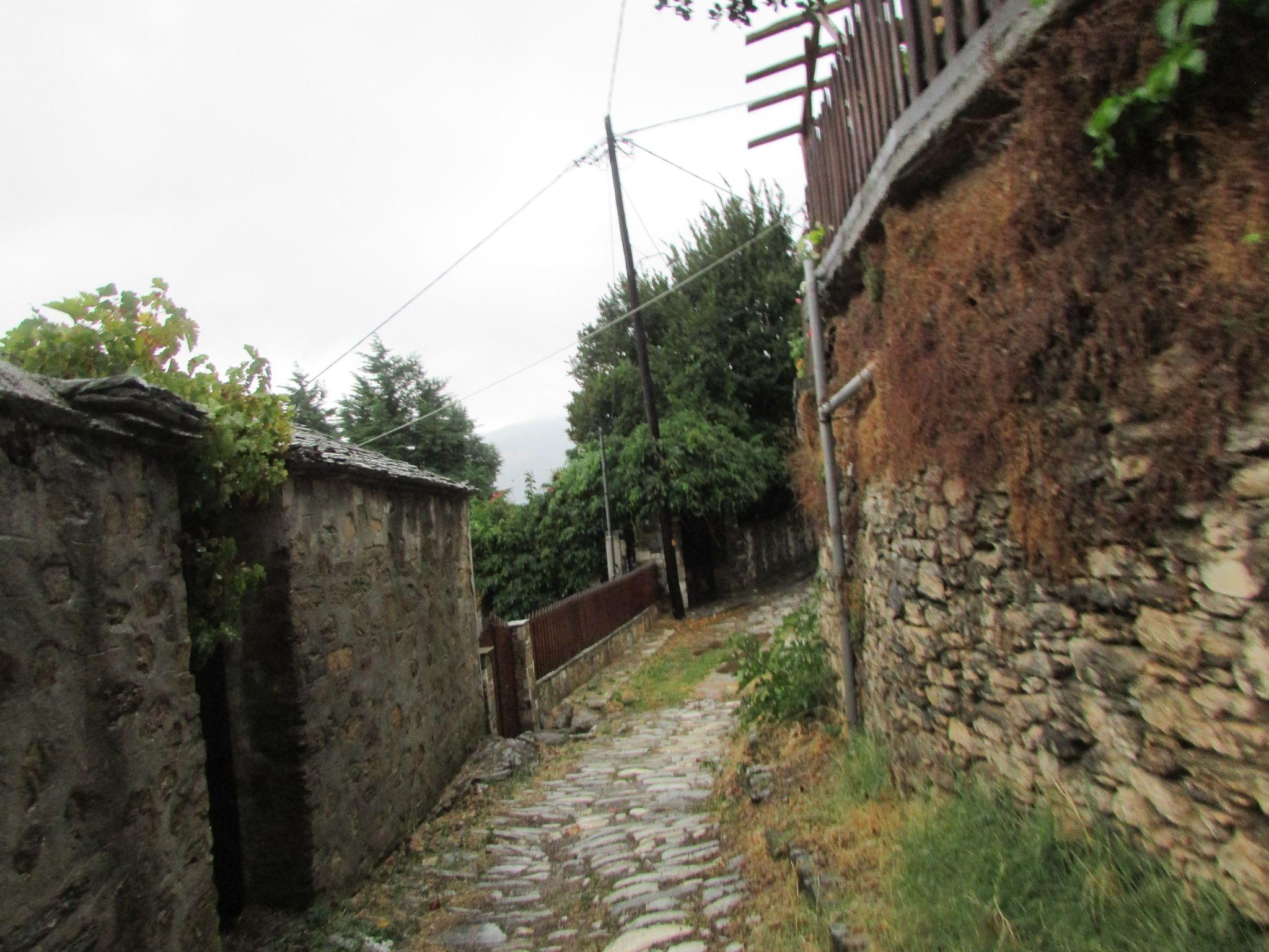 улица в село Агиос Лаврентиос, Пилио