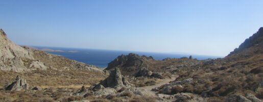 Остров Лимнос - панорама