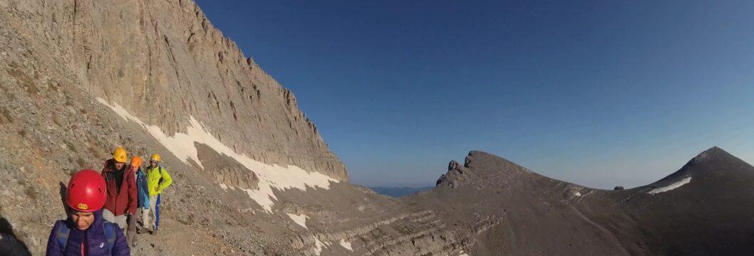 Изкачване на Митикас планината Олимп