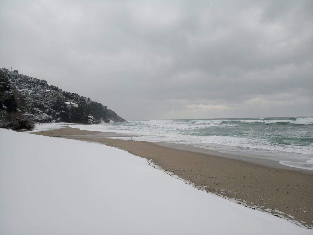 Плаж Хорефто, Пилио