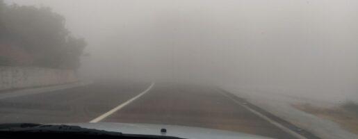 Мъгла в планината Пилио