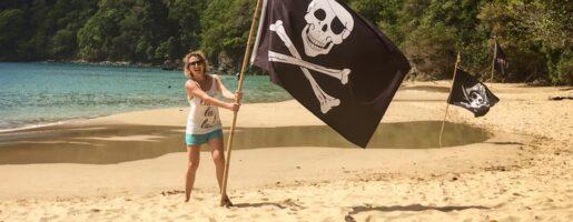 Пиратски плаж на Карибите