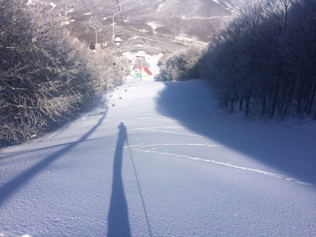 Писта на ски курорт Агриолефкес