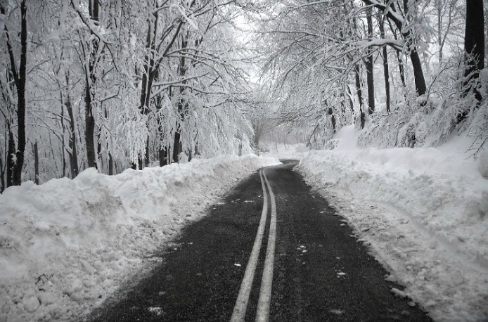 Пътя към ски центъра