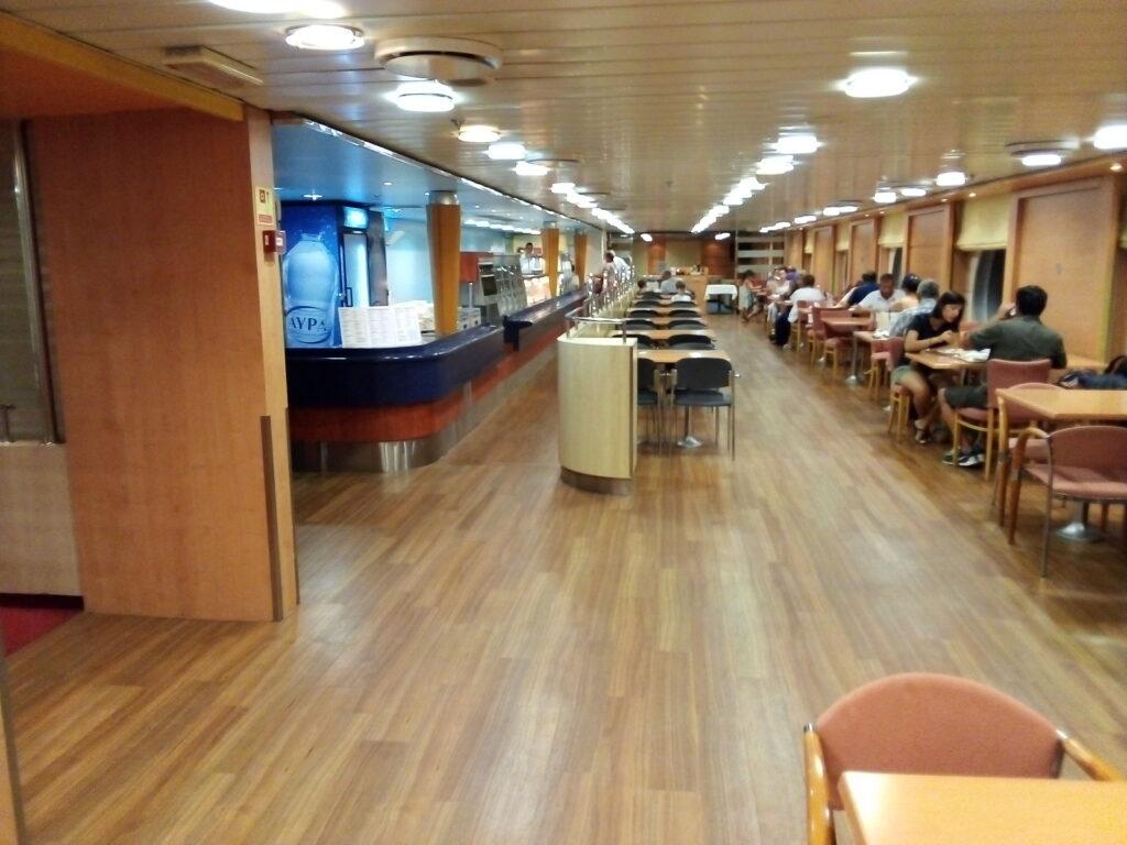 заведение за хранене на ферибот