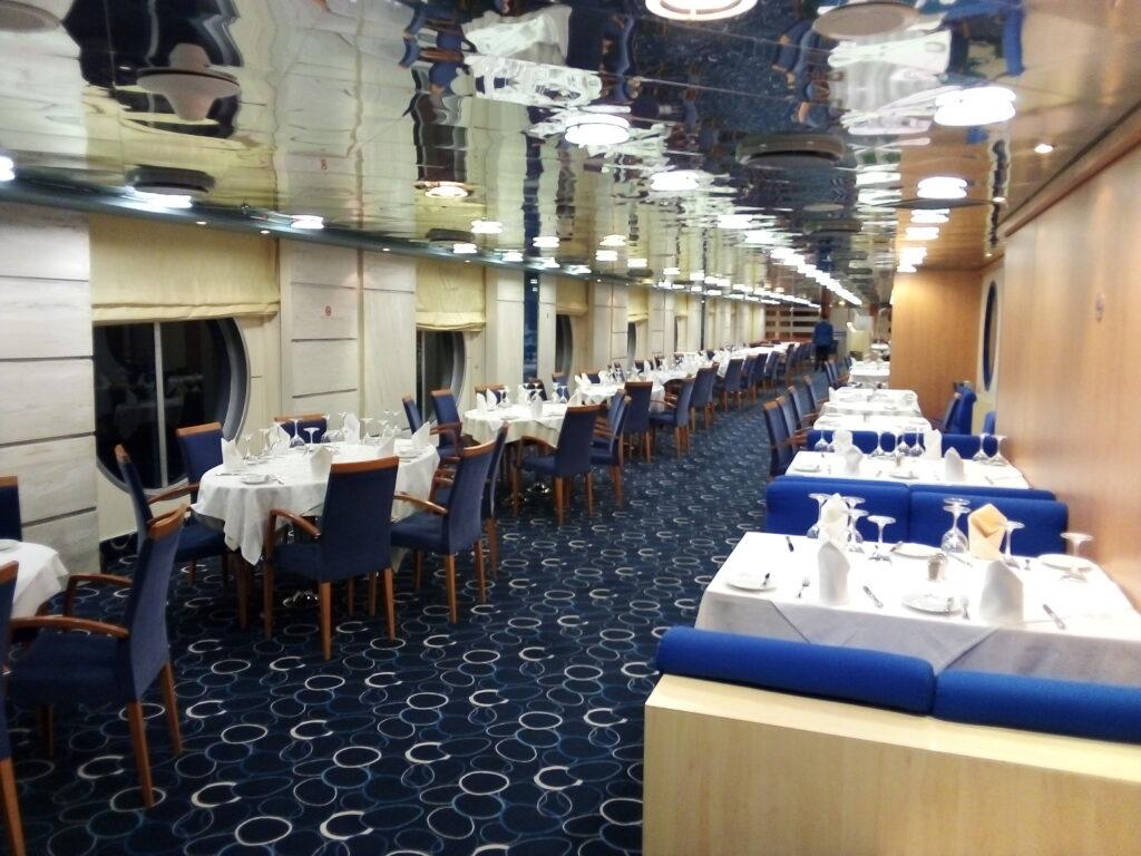 ресторант във ферибот