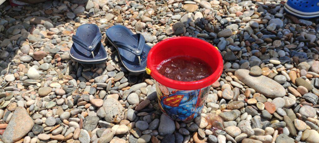 Кофа с медузи